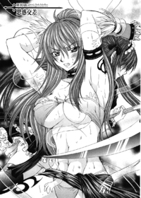 Queen\'s Blade Rebellion - Aoarashi no Hime Kishi Chapter 10 Cover